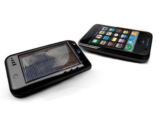 iPhone теперь заряжается от солнечных лучей