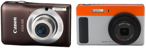 Сравнение 8 бюджетных компактных камер: Canon первый, Pentax второй