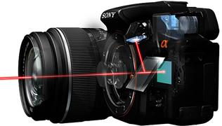 Небывалые фотокамеры Sony STL α55 и STL α33