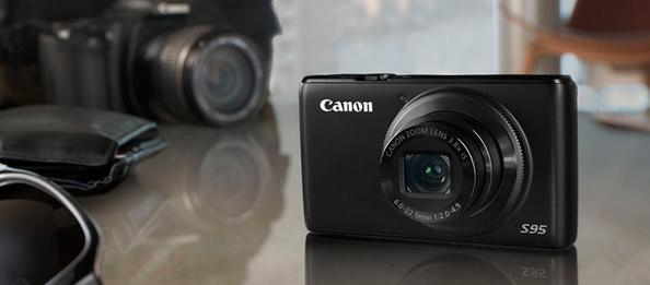 Canon PowerShot S95 теперь с HD-видео