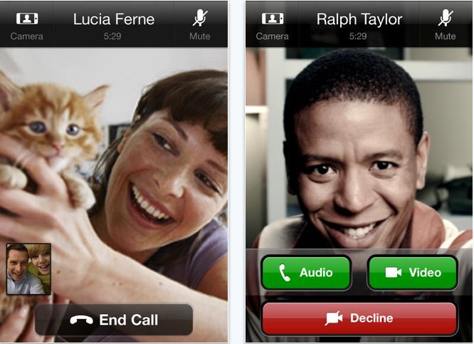 Двусторонние звонки по Skype для iPhone, iPad и iPod touch
