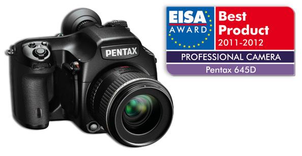 "Pentax 645D - ""Камера года"" в Европе по версии EISA"