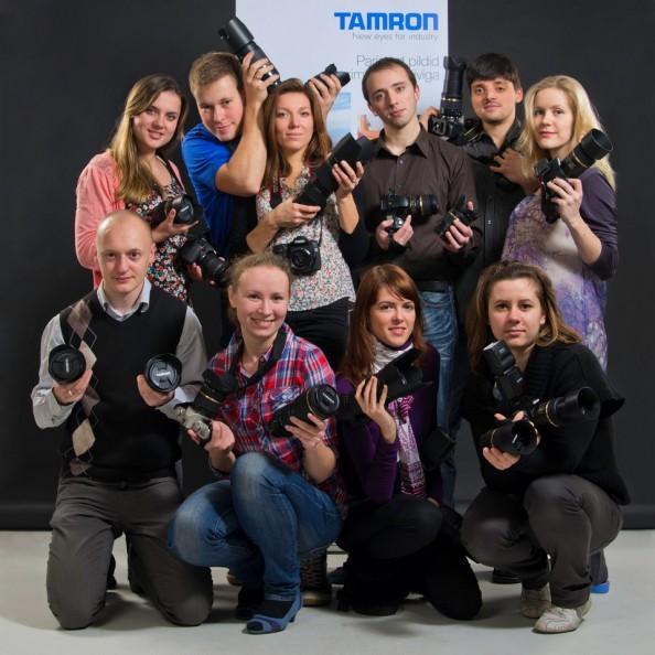 В картинках: День Tamron 26.11 для фотоклуба TPC