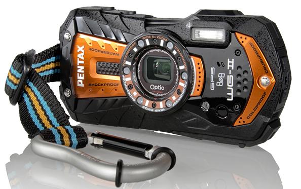 Новые влагозащищенные камеры Pentax Optio WG-2 и WG-2 GPS