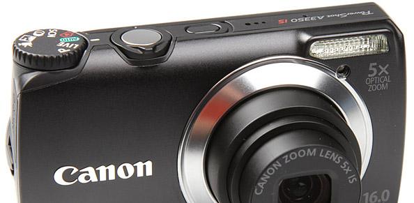 Что в коробке: фотоаппарат Canon PowerShot A3350 IS
