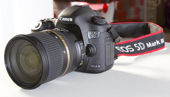 Что в коробке: зеркальная камера Canon EOS 5D Mark III
