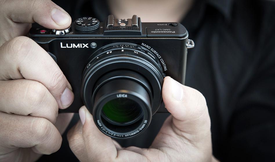 Что в коробке: флагманская модель компактных камер Panasonic - Lumix LX-7.