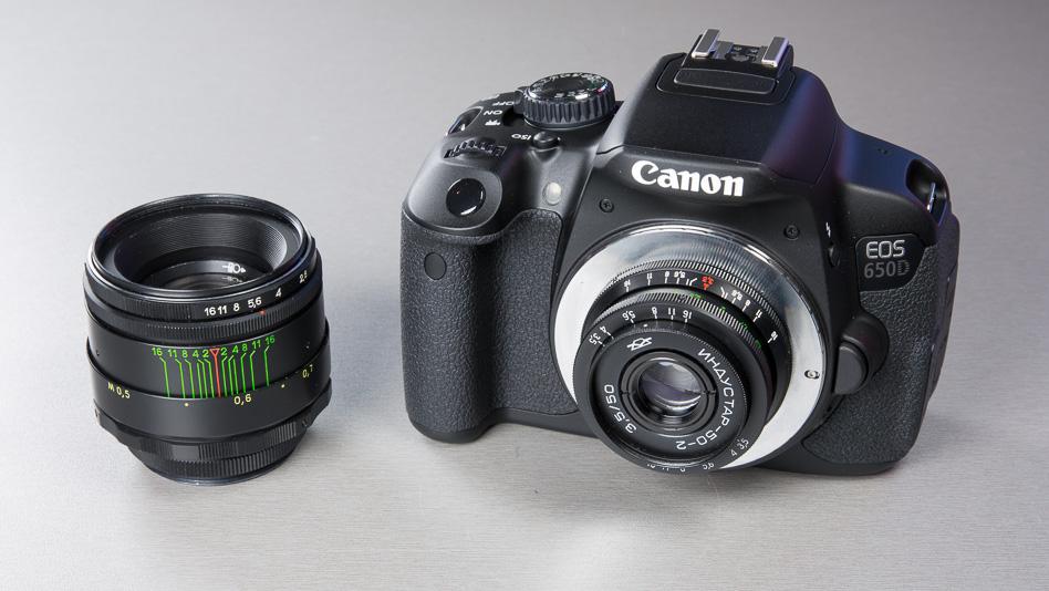Полезные штуки №34. Адаптер для использования старых объективов M42 с зеркальными камерами Canon.