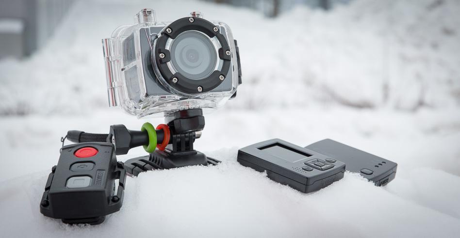 Что в коробке: видеокамера BeastVision HD Outdoor Edition для любителей экстремального спорта.
