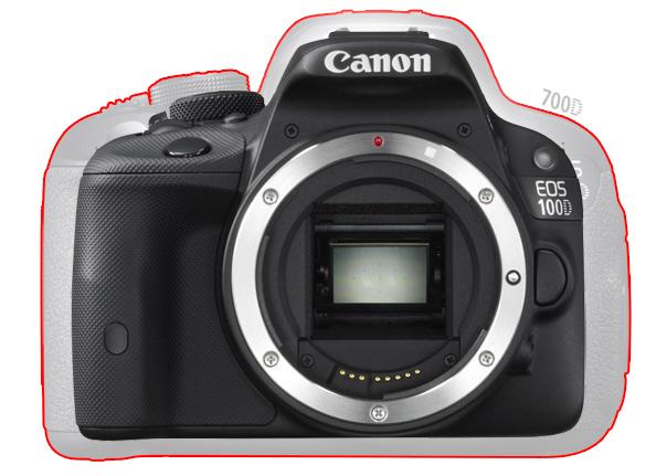 Canon EOS 100D - самая маленькая и легкая зеркальная камера в мире.