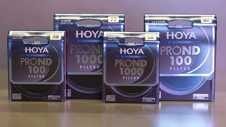 Новые нейтрально серые фильтры серии PROND от Hoya