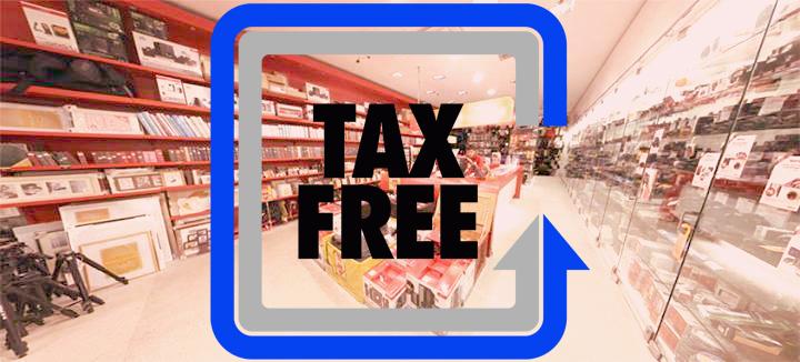 Оформите Tax Free на все товары, купленные в Photopoint