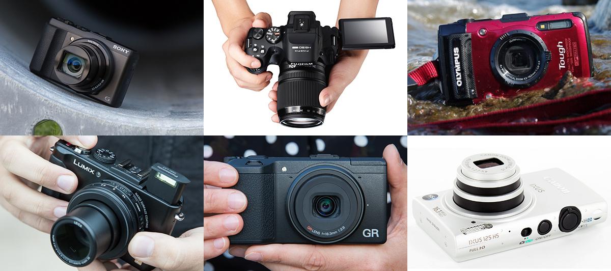 Какие компактные камеры стали лучшими в 2013 году?