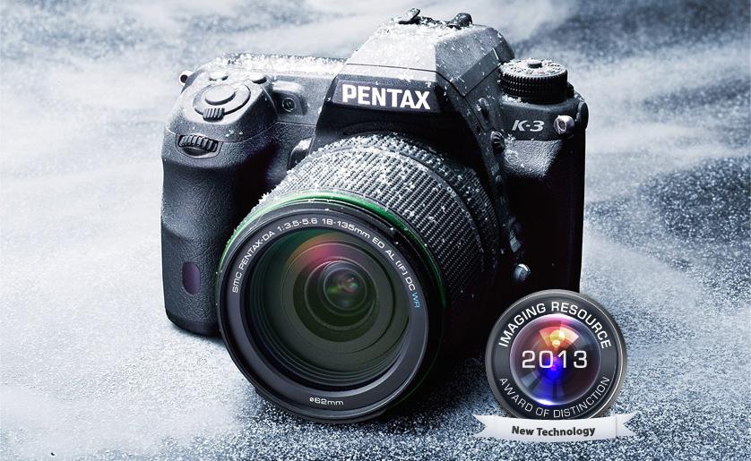 Pentax K-3 отмечена среди самых лучших камер 2013-го года