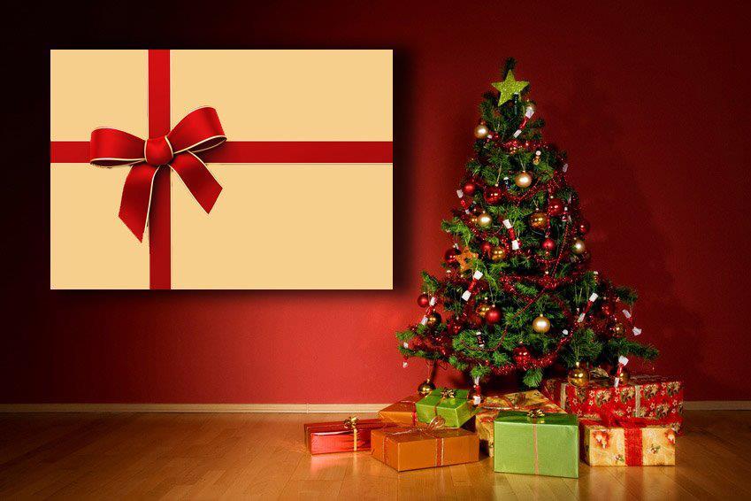 Большой фотохолст в подарок на Православное Рождество