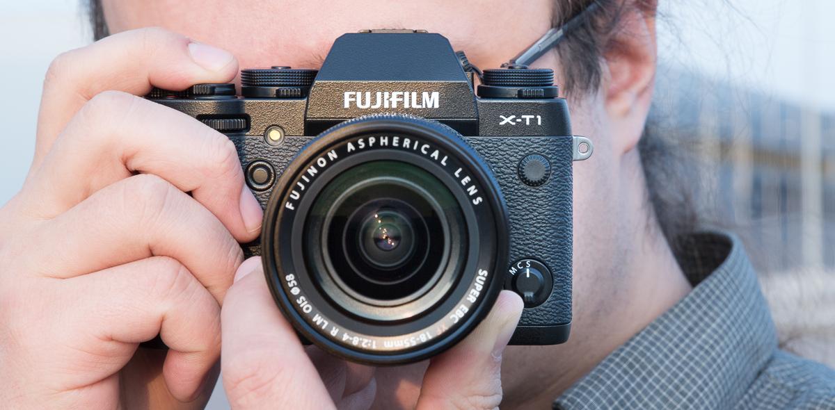 Что в коробке: беззеркальная камера Fujifilm X-T1