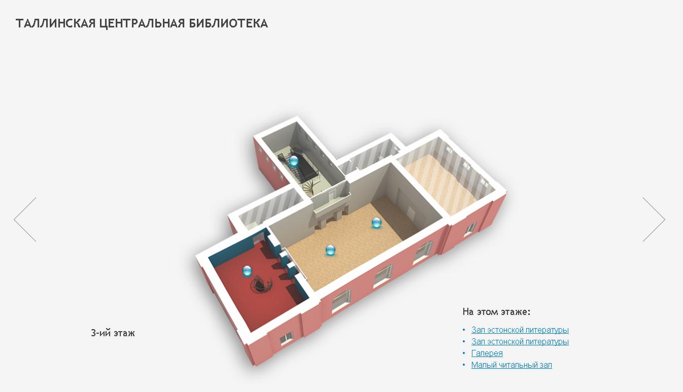 Виртуальный тур по Таллинской Центральной Библиотеке