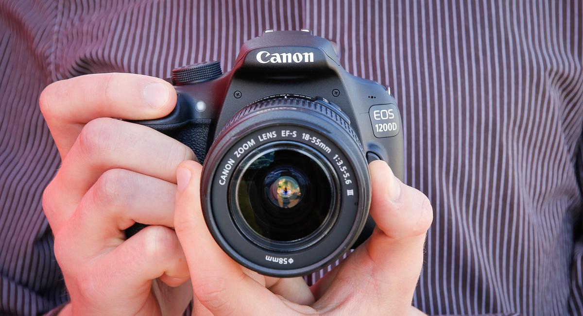 Что в коробке: зеркальная камера Canon EOS 1200D