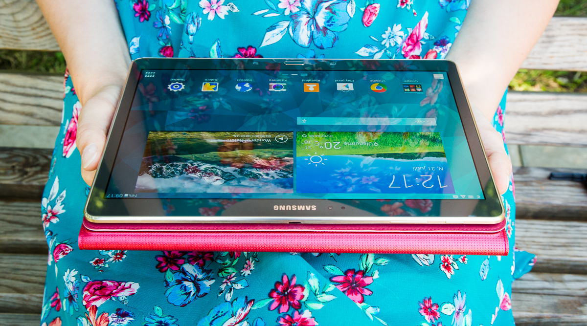 Планшет Samsung Galaxy Tab S – красавец с мускулами