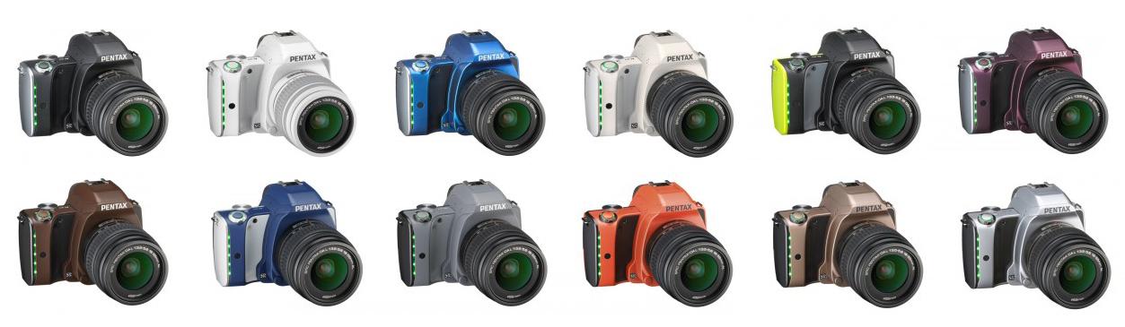 Теперь в Photopoint Pentax K-S1 в 12 разных тонах