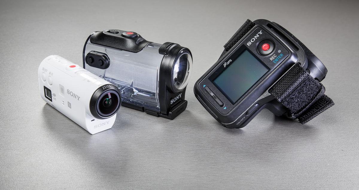 Что в коробке: Sony Actioncam Mini