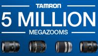 Tamron отмечает выпуск 5 миллионов суперзум объективов - клиентам объектив по низкой цене