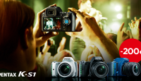 Современные зеркальные камеры Pentax K-S1 теперь еще дешевле