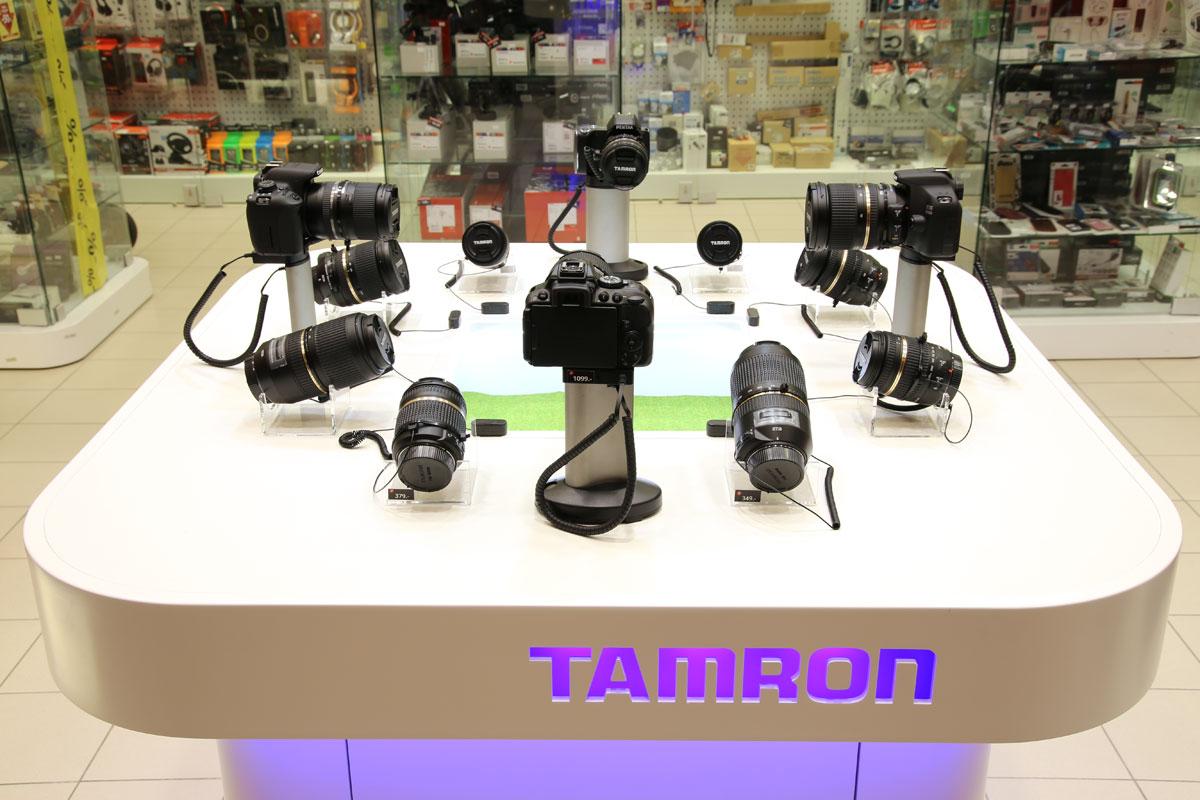 Демо-стенд Tamron в Rocca al Mare ждет всех желающих тестировать объективы