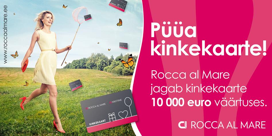 Rocca al Mare раздает подарочные карты стоимостью в 10 000€