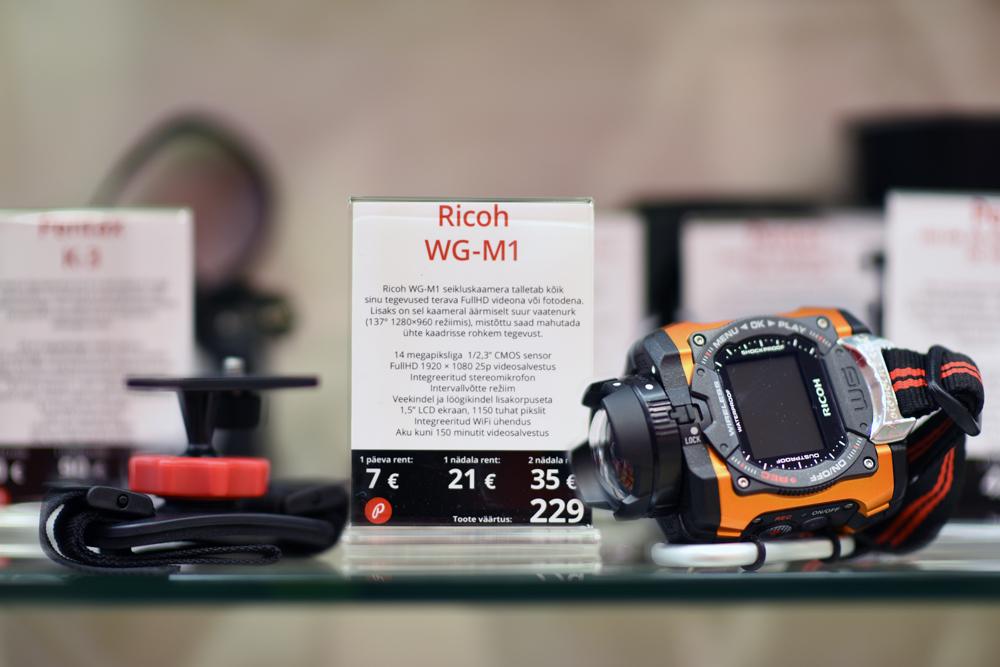 Доступно в аренду: экшн-камера Ricoh WG-M1