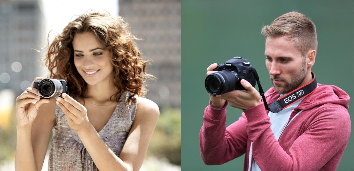 Зеркальная или беззеркальная камера? Что подойдет именно тебе?