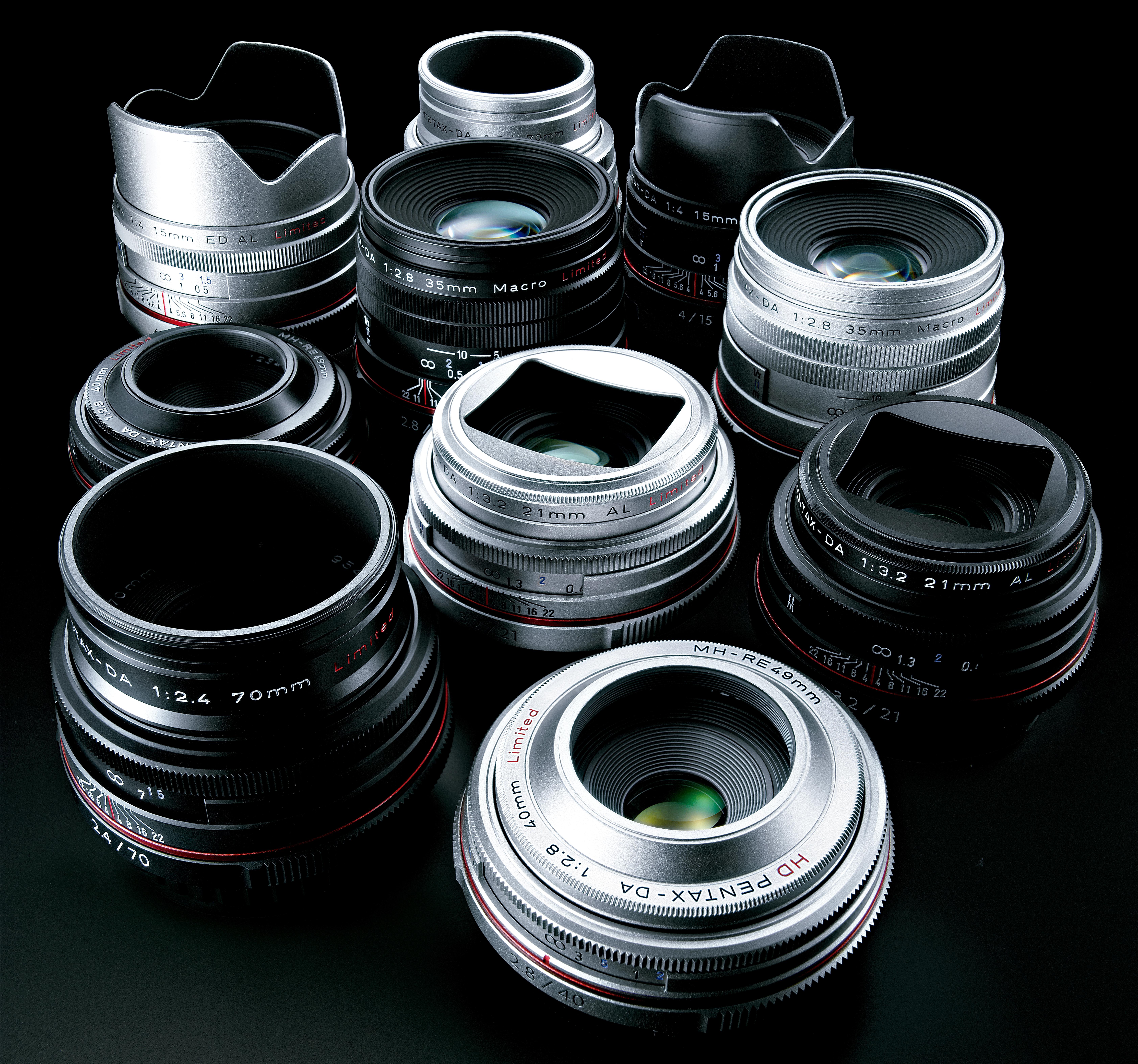 Легендарные объективы Pentax HD DA теперь в Photopoint