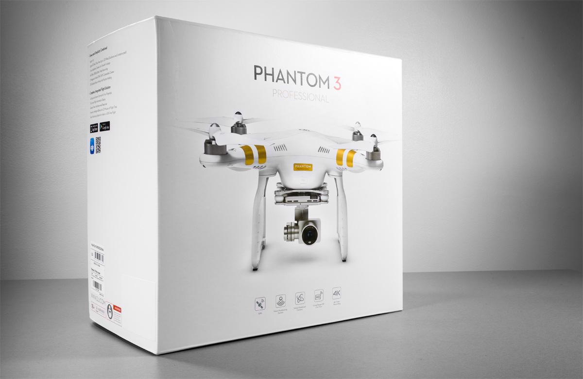 Прибыл DJI Phantom 3