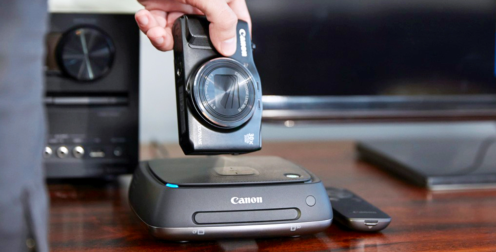 Теперь в наличии: интерактивный фотоальбом современности Canon Connect Station