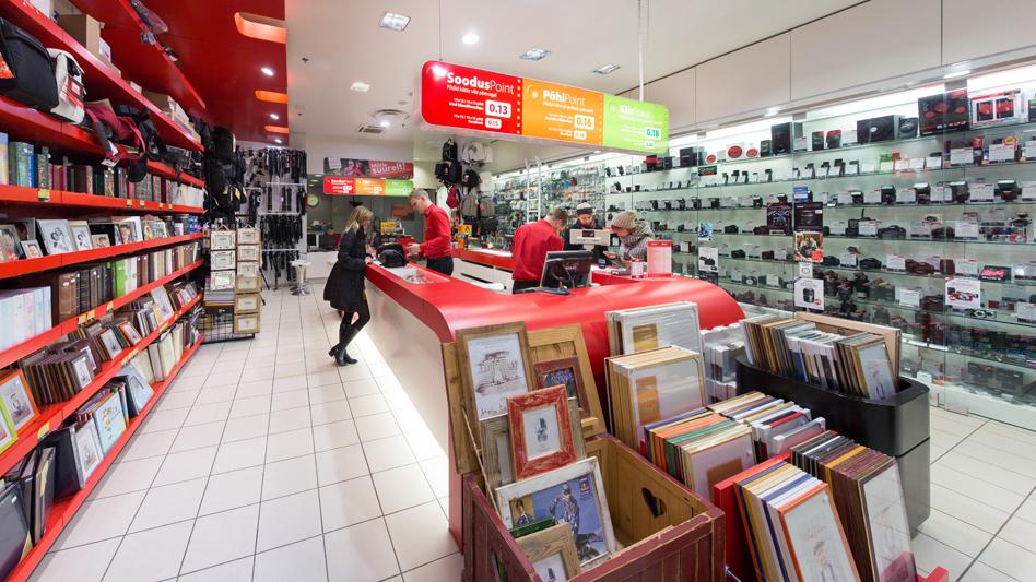 Магазин Photopoint в Tartu Kaubamaja закрывает двери - финальная распродажа идет полным ходом