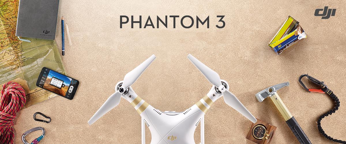 Теперь в продаже: эксклюзивные комплекты DJI Phantom 3 Professional