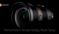 Sony представляет новую серию объективов Sony G-Master для полноформатных камер