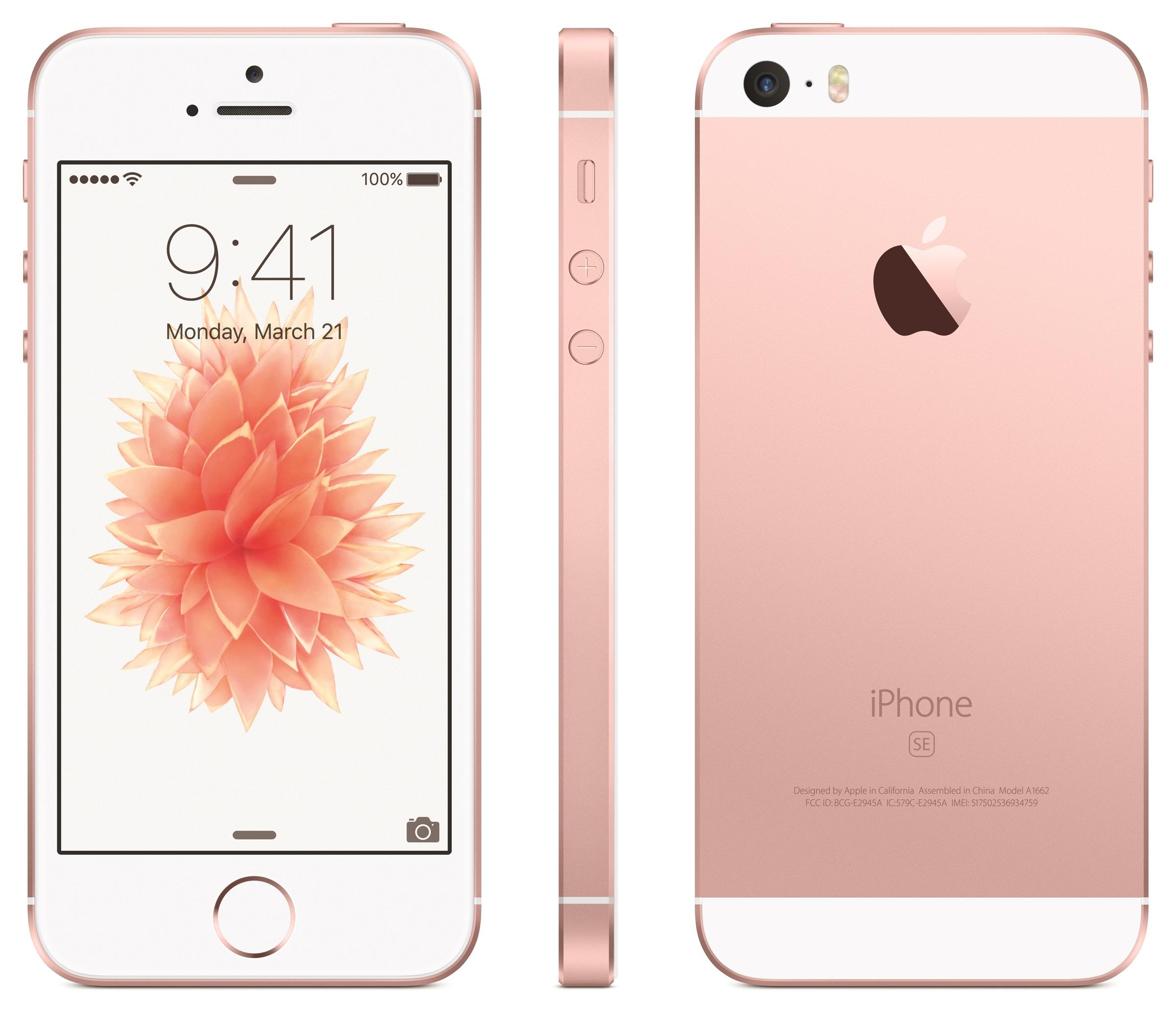 """iPhone SE - самый мощный смартфон с 4"""" экраном"""