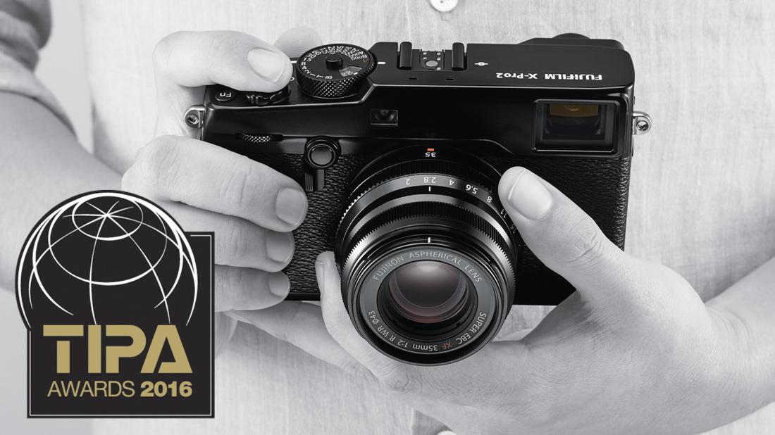 Награду TIPA за лучшую беззеркальную камеру эксперт-уровня получил Fujifilm X-Pro2