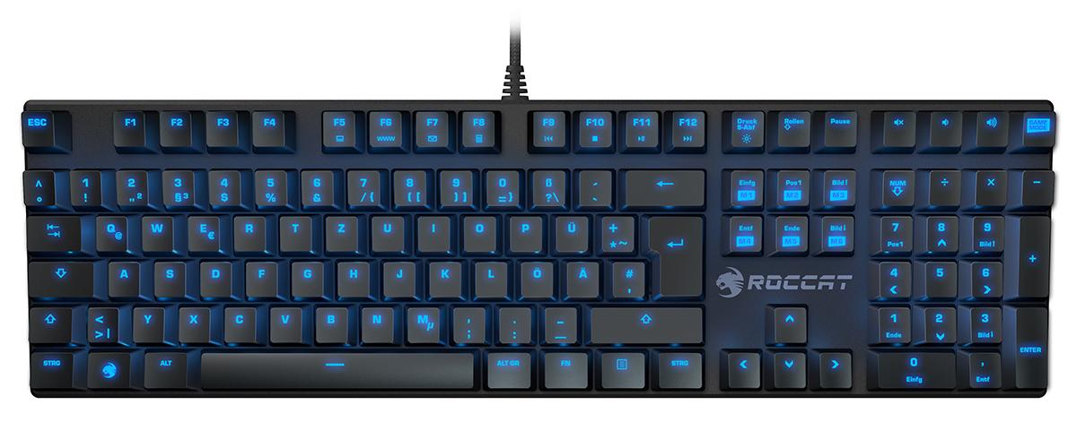Теперь в продаже: механические игровые клавиатуры Roccat Suora