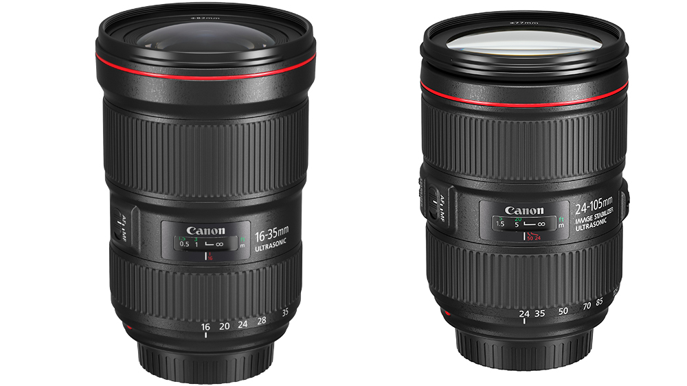 Два новых объектива L серии от Canon: EF 16-35мм f/2.8L & EF 24-105мм f/4L