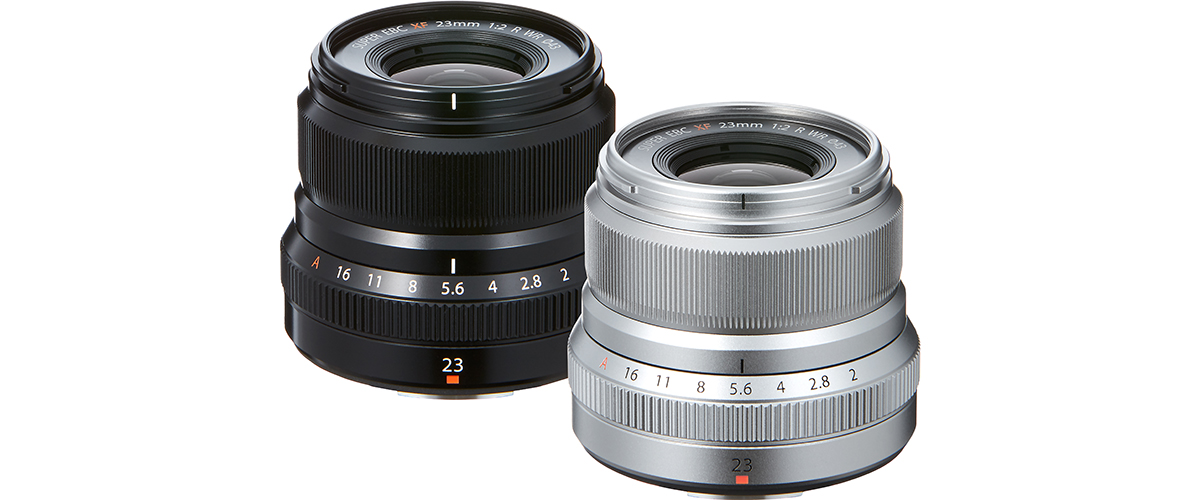 Анонс погодоустойчивого обьектива Fujinon XF 23mm F2 R WR