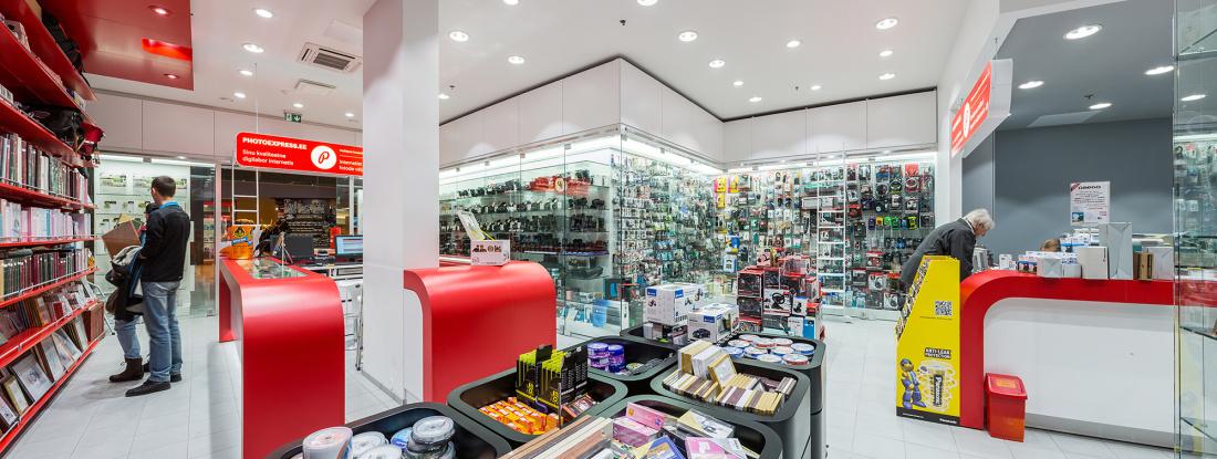 Соверши покупки в магазине Photopoint в Lõunakeskus - если повезет, получишь все деньги назад