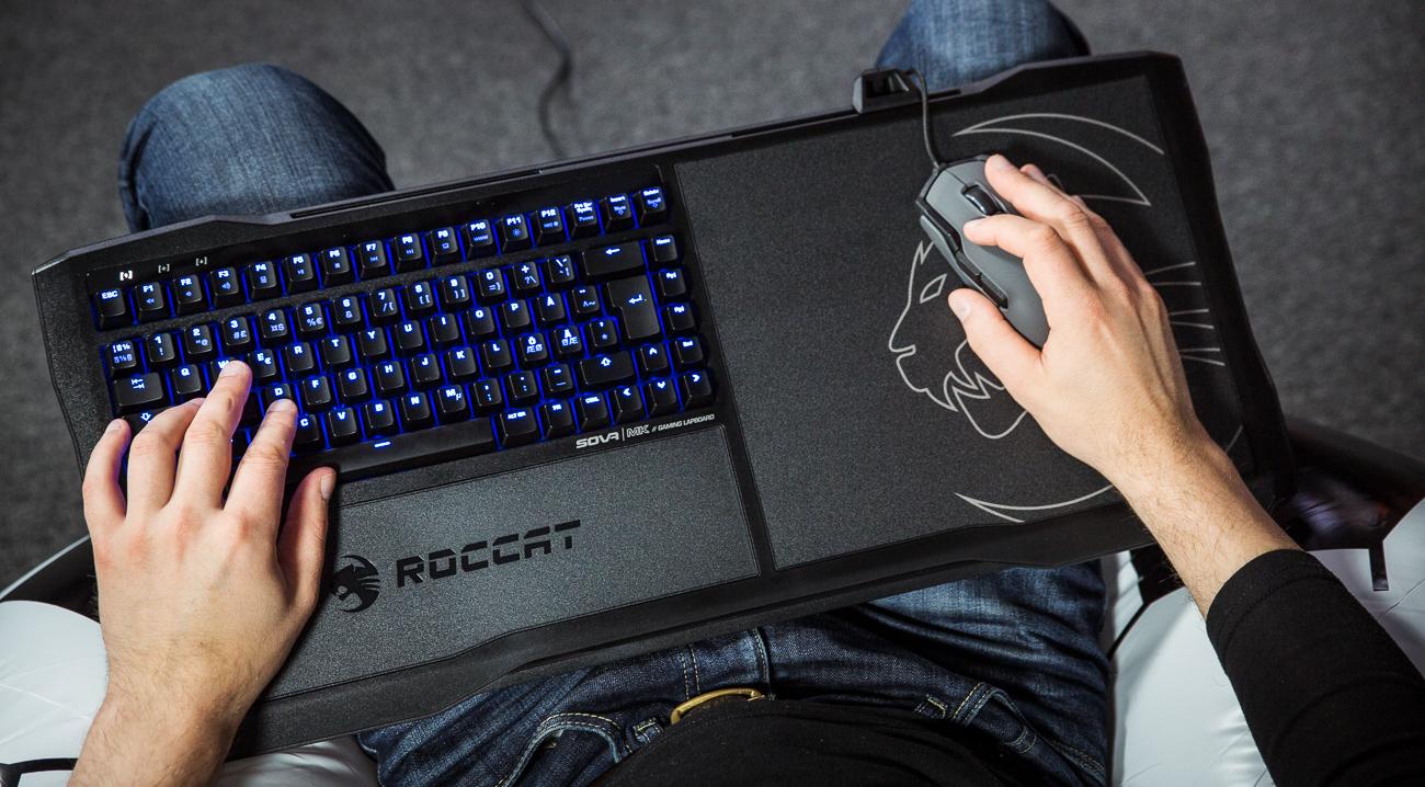 Что в коробке: портативная клавиатура Roccat Sova