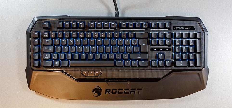 Ryos MK FX поднимает планку механических клавиатур Roccat до нового уровня