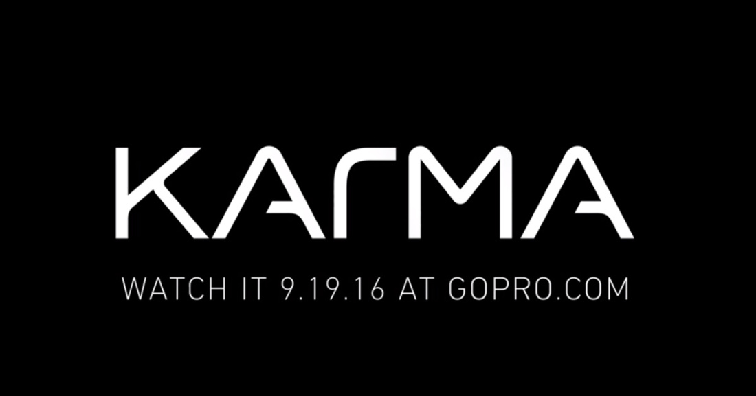 Первый дрон GoPro Karma будет представлен миру уже 19 сентября