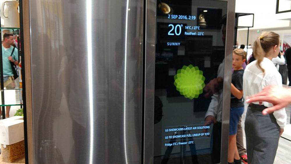 IFA 2016: новый холодильник LG с операционной системой Windows 10