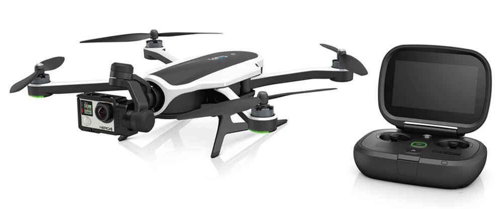 GoPro представила свой дрон Karma