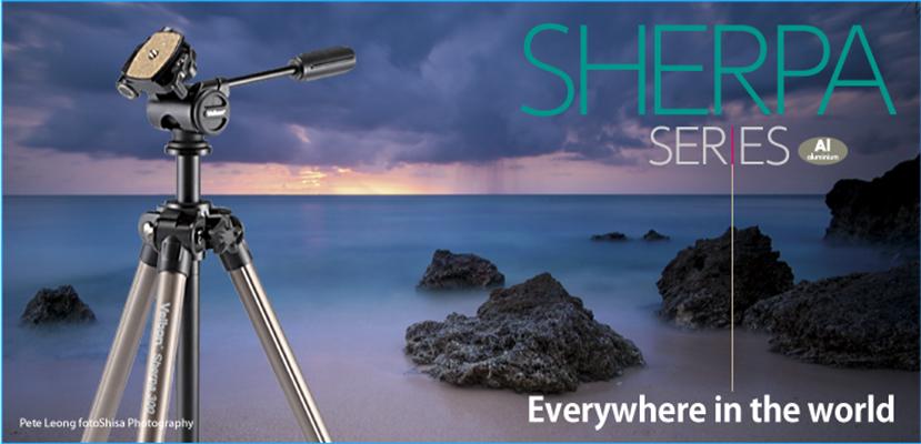 Компания Velbon представила свои новые штативы серии Sherpa