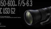 Теперь в продаже: объектив Tamron SP 150-600mm f/5.0-6.3 DI VC USD G2